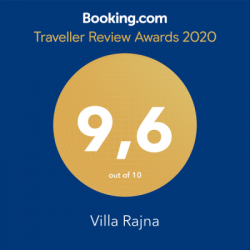 Villa Rajna 2020 Review award Booking.com